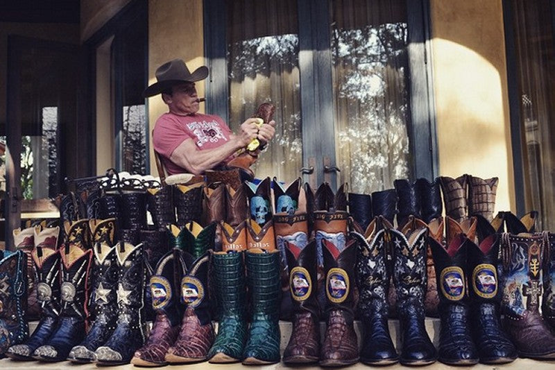 Arnold Schwarzenegger Boot Collection