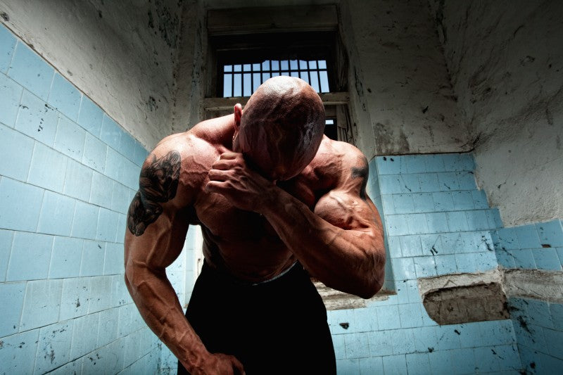 Bodybuilder in Prison