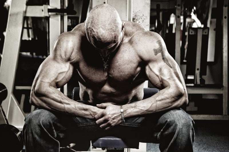 Bodybuilder Using Follistatin