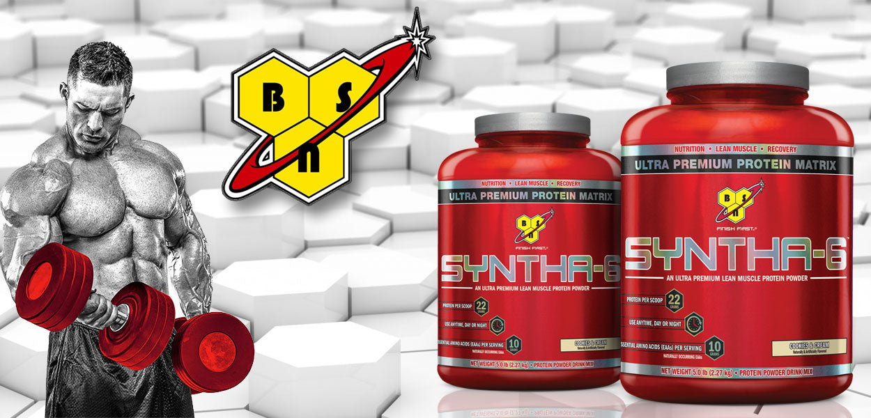 Bsn Syntha 6 5lbs Lean Muscle Tiger Fitness