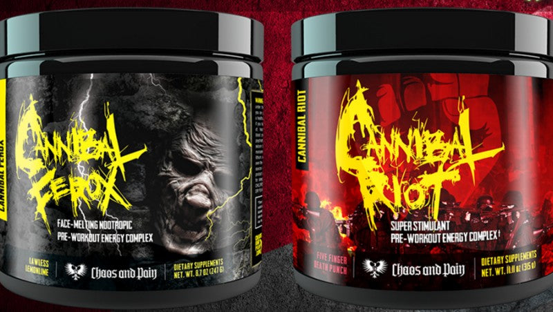 Chaos and Pain Pre-Workouts