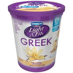 Dannon Greek Yogurt