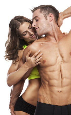 Fitness Couple in Love