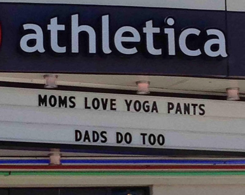 Mons love yoga pants