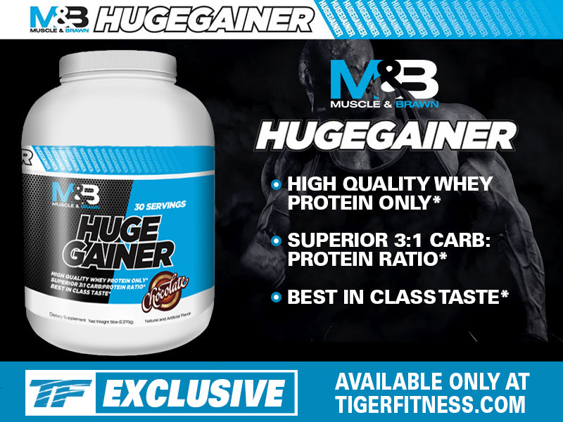 Muscle and Brawn's Huge Gainer