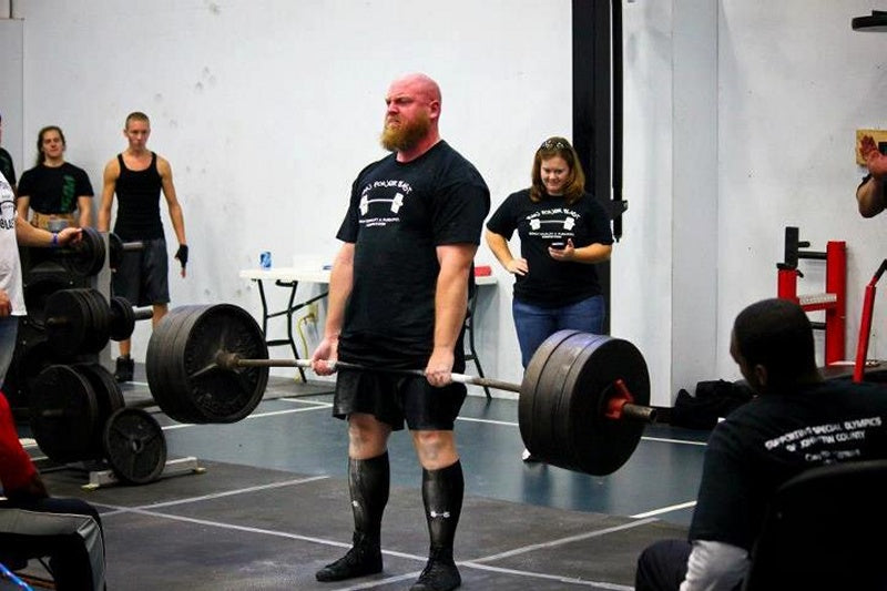 Powerlifter Josh Mac