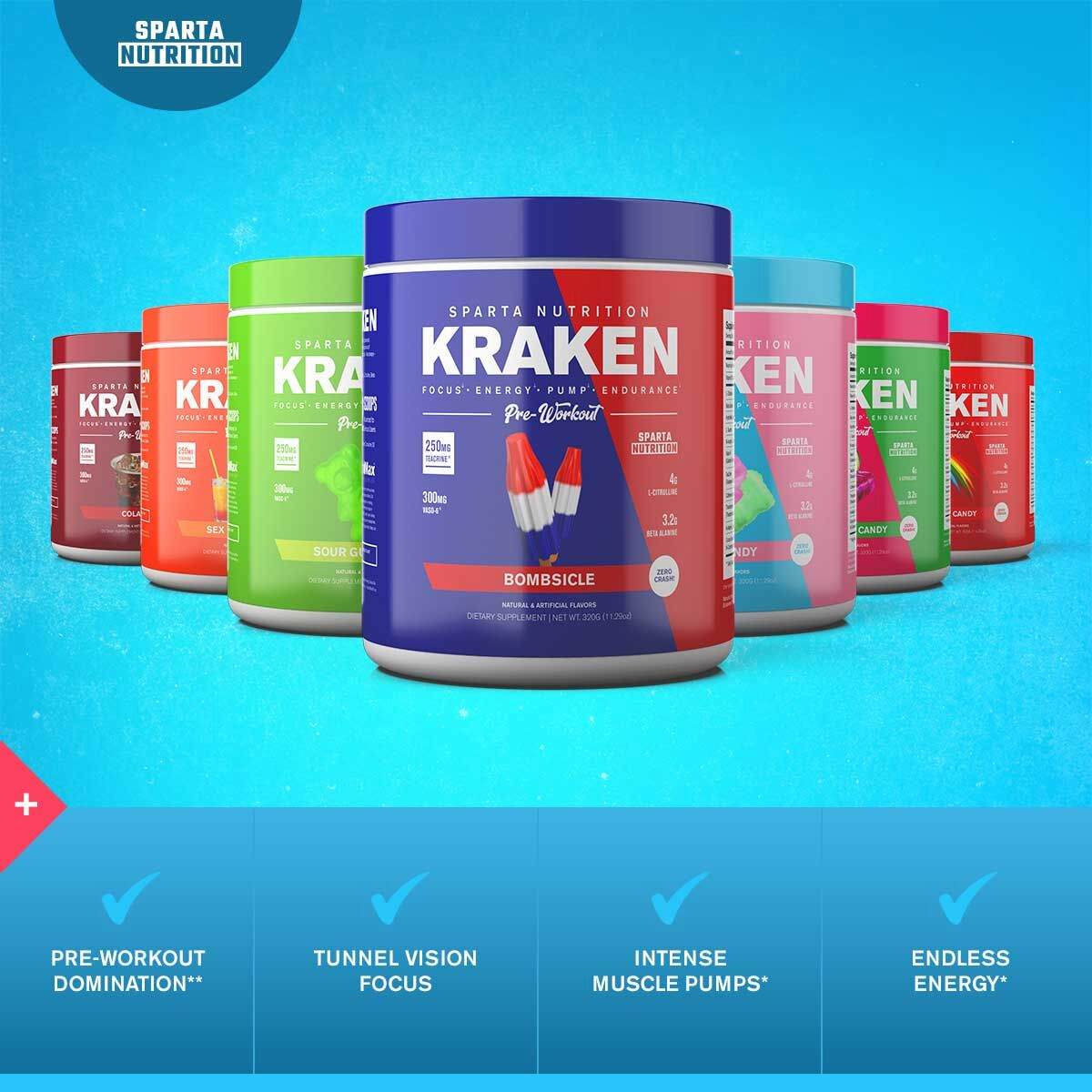 Sparta Nutrition Kraken Benefits