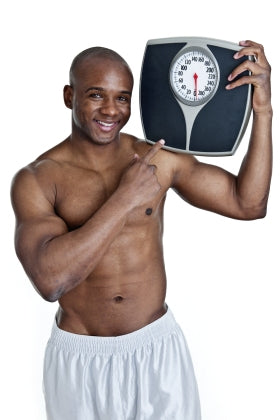 Man With a Weight Scale