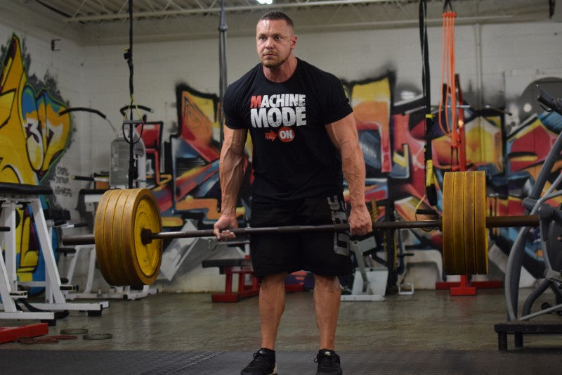 Marc Lobliner Deadlifting