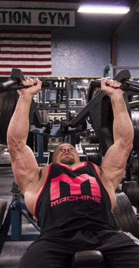 Machine Chest Press - Marc Lobliner