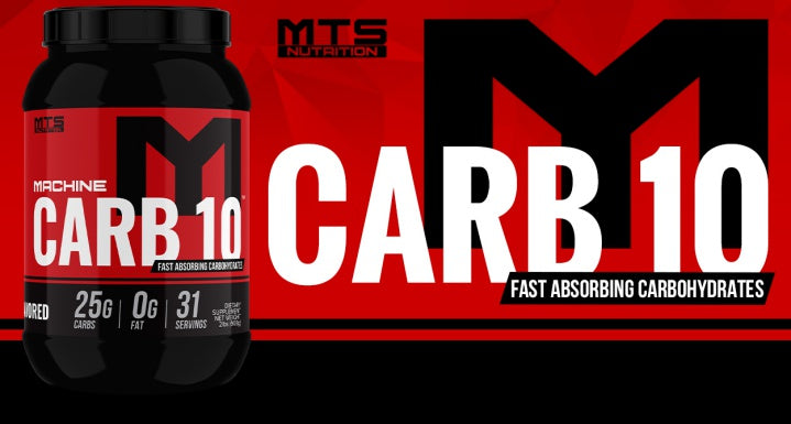 MTS Nutrition Carb 10 Carbohydrate Supplement
