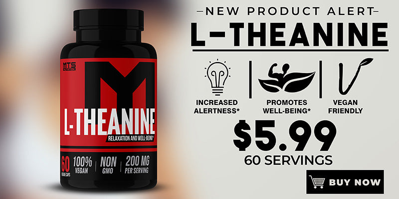 MTS Nutrition L-Theanine Capsules Banner