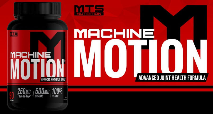 MTS Nutrition Machine Motion Banner