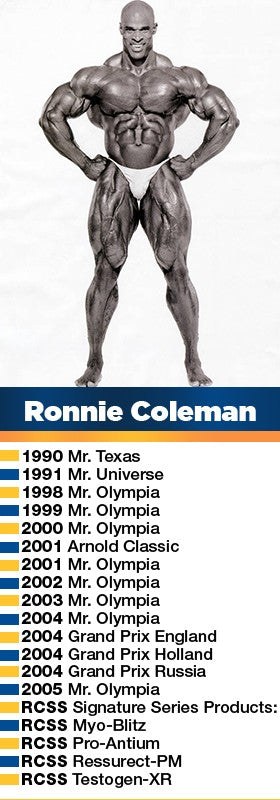 Mr. Olympia Ronnie Coleman