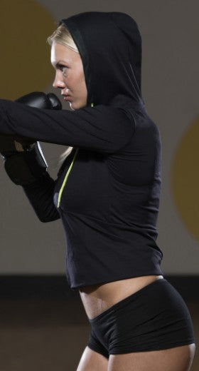 Woman Shadow Boxing