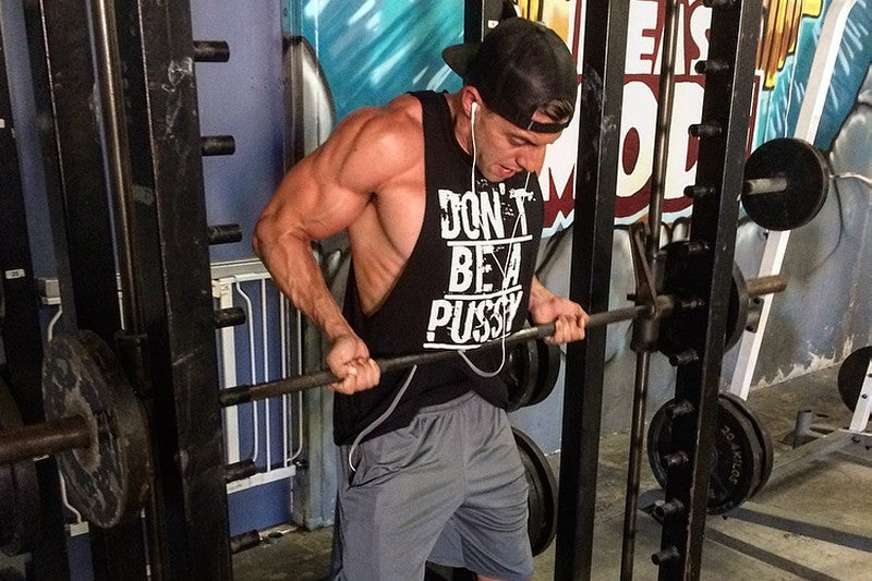 Smith machine curls