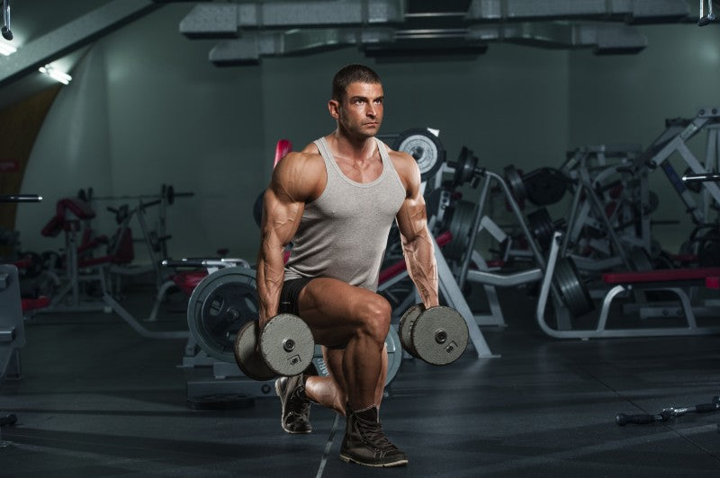 Dumbbell Split Squats