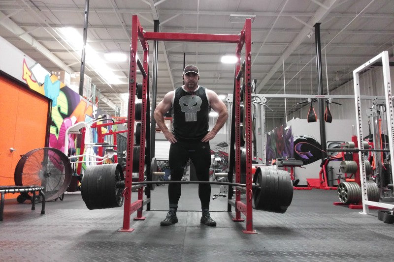 Steve Shaw Deadlift