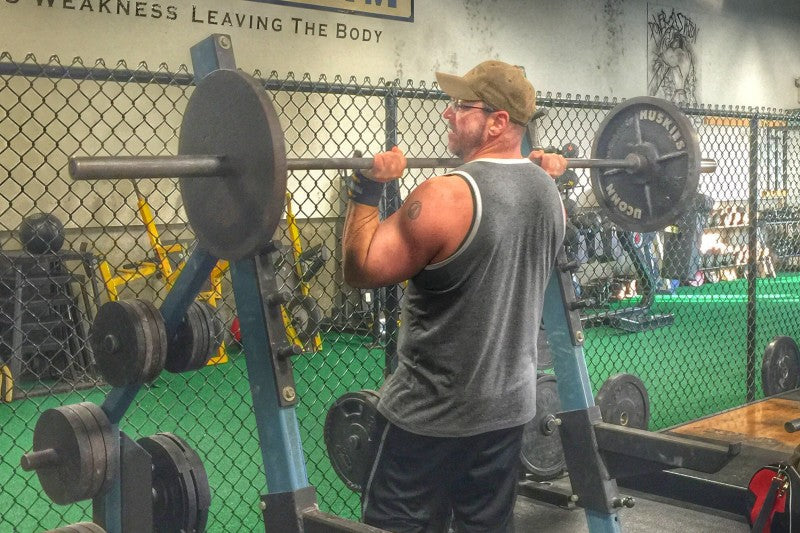 Steve Shaw Overhead Press