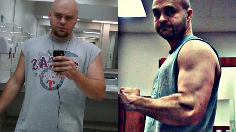 William Builds Muscle