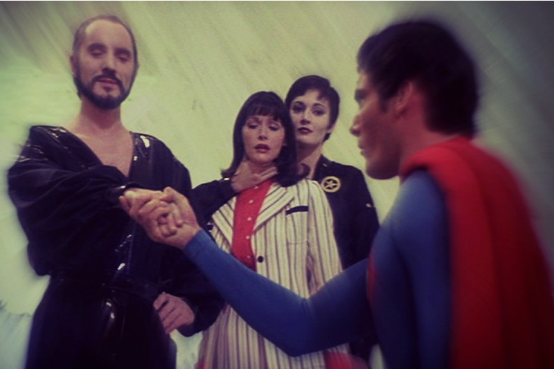 General Zod and Superman