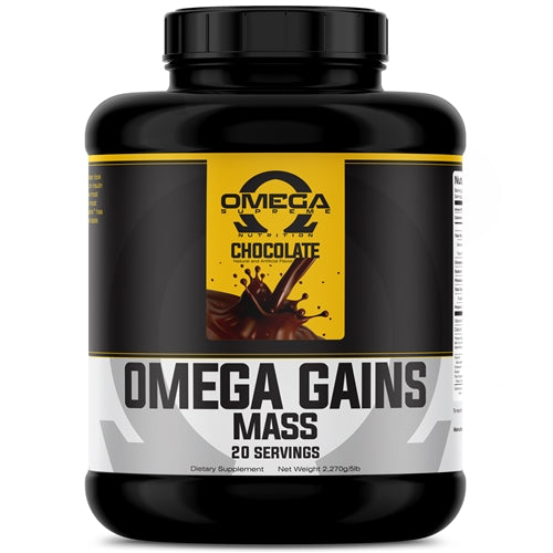 Omega Gains 5lb - Chocolate