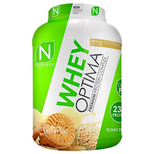 Whey Optima 5lb. - Vanilla Ice Cream Cookie