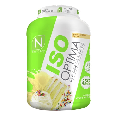 Nutrakey Iso Optima 5lbs. - white chocolate macadamia
