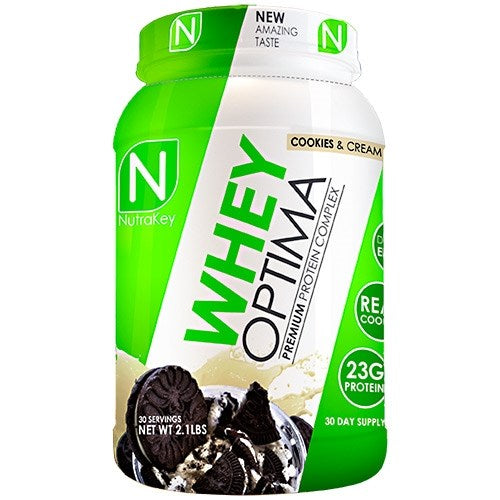Nutrakey Whey Optima 2lb. - Vanilla Ice Cream Cookie