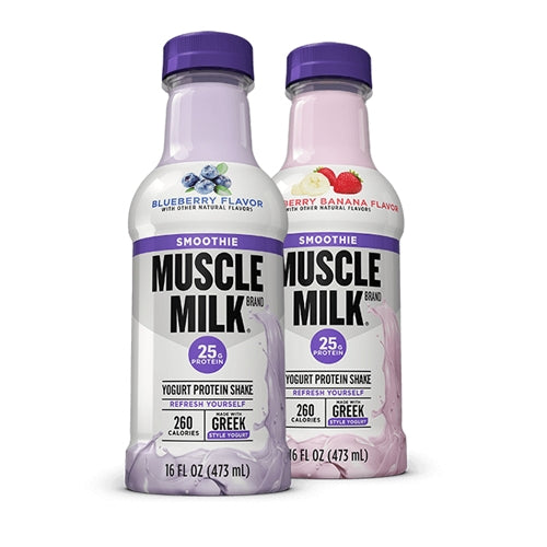 CytoSport Muscle Milk Smoothie 12 Pack - Strawberry Banana
