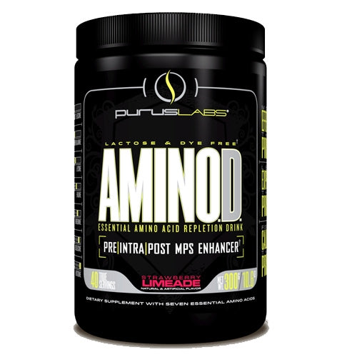 Purus Labs AminOD - 40 serv. - Strawberry Limeade