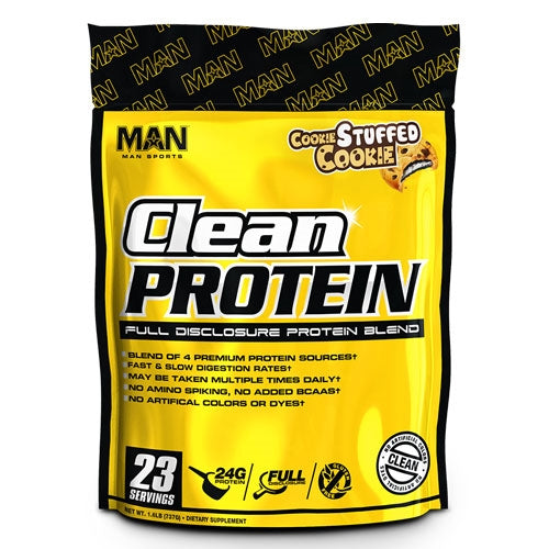 MAN Sports Clean Protein 23 Serv. - Vanilla Ice Cream