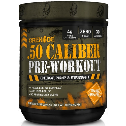 .50 Caliber Pre-Workout - Wild Punch