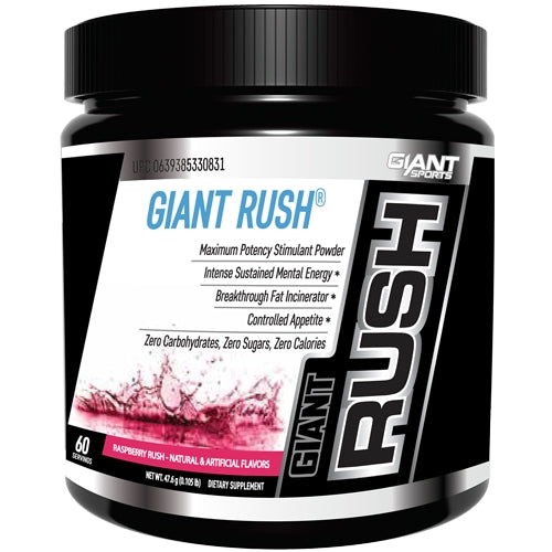 Giant Rush 60 Serv. - Raspberry Rush