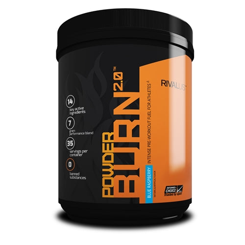 Powder Burn 2.0 35 Servings - Orange Slice
