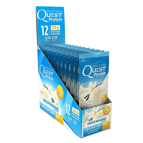 Quest Protein Powder 12 Pack - Vanilla Milk Shake