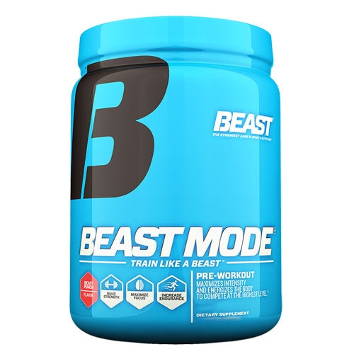 Beast Sports Beast Mode 30 Servings - Pink Lemonade