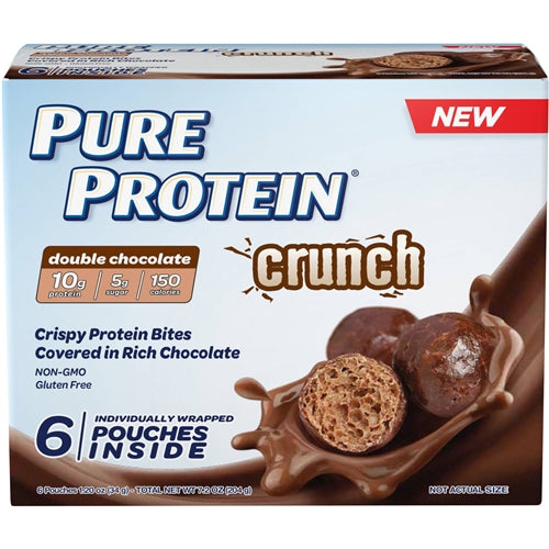 Crunch Bites Box of 6 - Peanut Butter