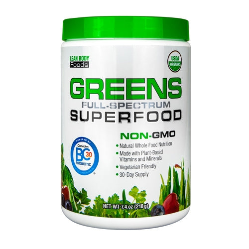Labrada Greens Superfood 30 Servings - Unflavored