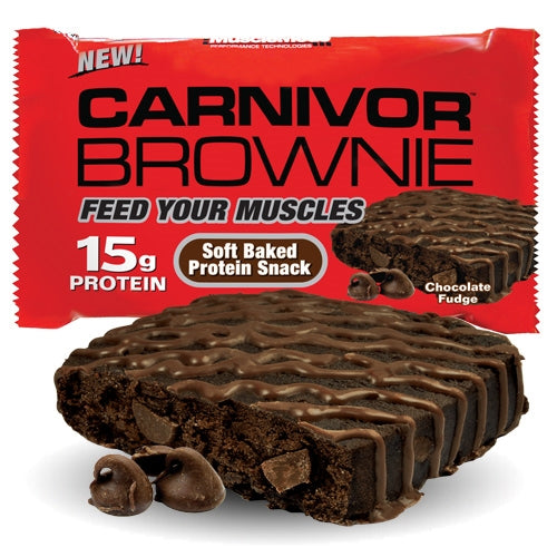 Carnivor Brownie Box of 12 - Chocolate Fudge