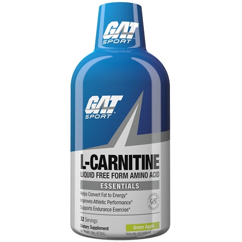 Essentials Liquid L-Carnitine 16oz - Green Apple
