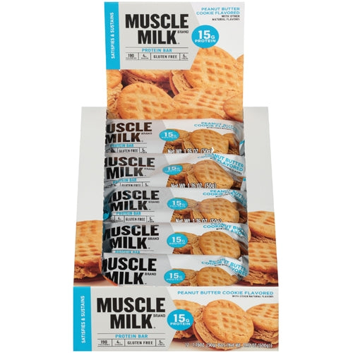 Protein Bars Blue Series Box of 12 - Rocky Road