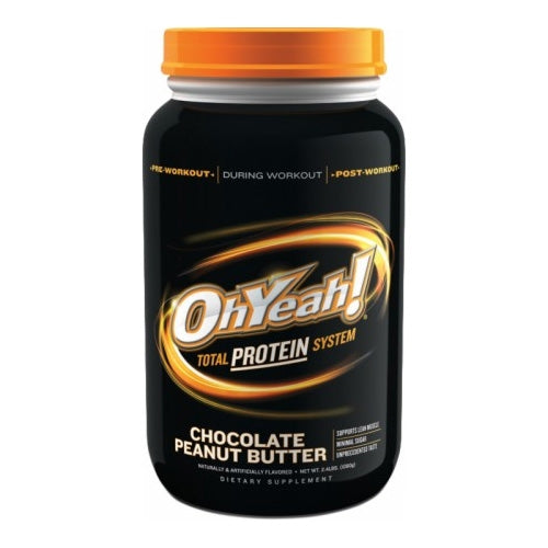 Oh Yeah! Total Protein System 2.4lbs  - Vanilla Creme