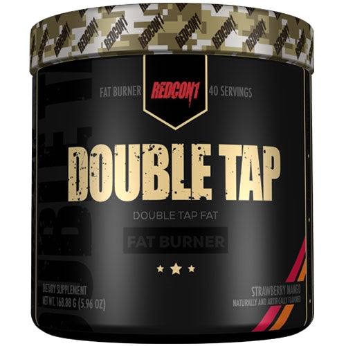 Double Tap Fat Burning Powder 40 Servings - Strawberry Mango