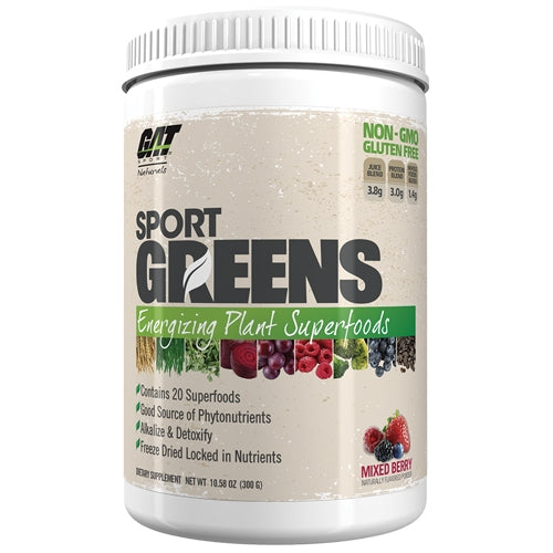 Greens 30 Servings - Mixed Berry