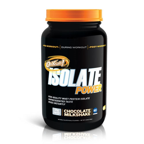 ISS OhYeah! Isolate Power 2lbs - Vanilla Creme