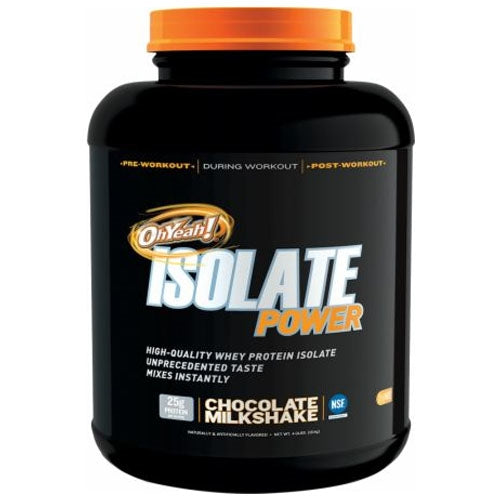 ISS OhYeah! Isolate Power 4lbs - Vanilla Creme