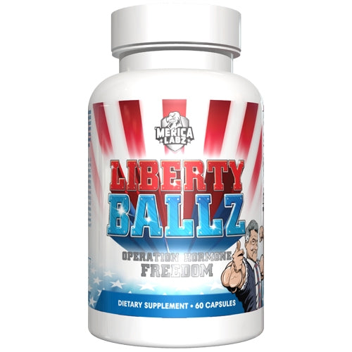 ' Liberty Ballz Test Booster 60 Capsules