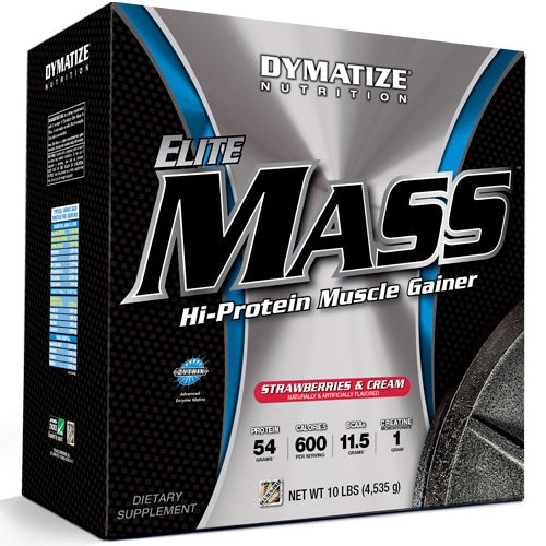Elite Mass Gainer 10lb  - Vanilla Milk Shake