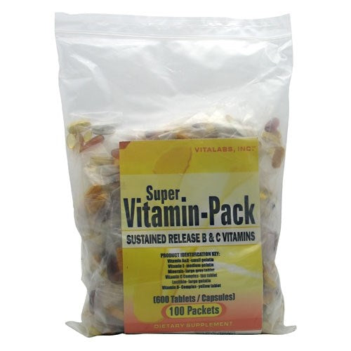 Super Vitamin Pack 100ct.